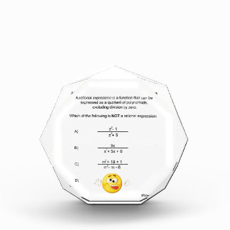 Rational Expression Award