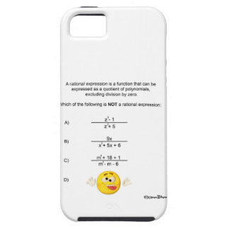 Rational Expression iPhone SE/5/5s Case