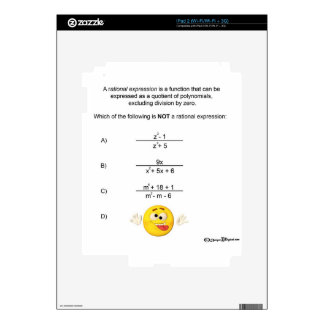 Rational Expression Skins For The iPad 2