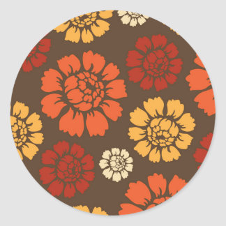 Rational Resounding Bounty Sincere Classic Round Sticker