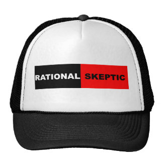 Rational Skeptic Trucker Hats