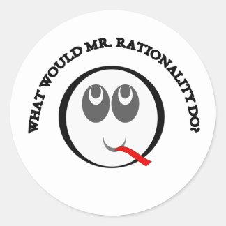 Rationality sticker
