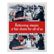 Rationing Means A Fair Share For All Of Us -- WW2