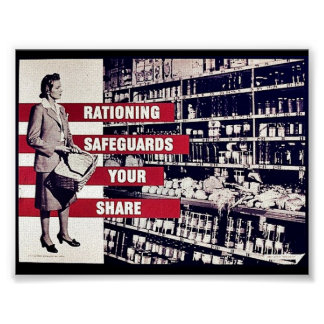 Rationing Safeguards Your Share Poster