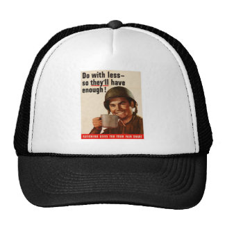 Rationing - WW2 Trucker Hat