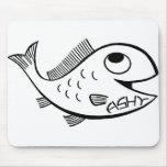 ¡ratón a pescado! tapetes de ratones