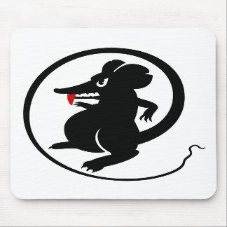 Ratón agresivo Mousepad de los jugadores del colmi Alfombrillas De Raton