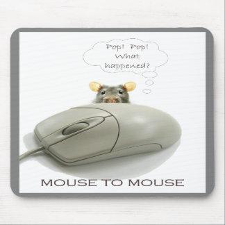 Ratón al ratón alfombrilla de ratones