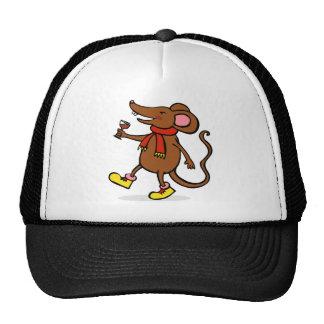 Ratón alegre gorra