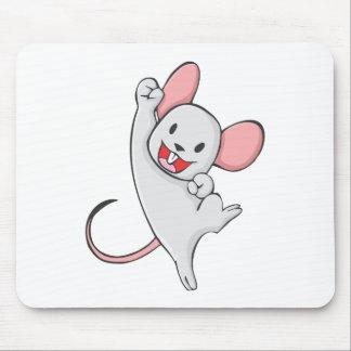Ratón alegre tapete de ratón