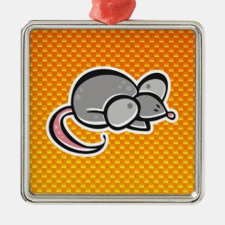 Ratón amarillo-naranja ornatos