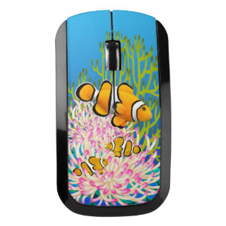 Ratón anaranjado de la radio de Percula Clownfish Ratón Inalámbrico