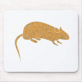 Ratón apenado de Brown Alfombrilla De Ratón