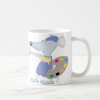 Ratón artístico taza