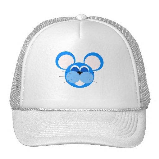 ratón azul gorras de camionero