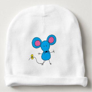 ratón azul gorrito para bebe