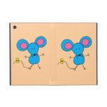 Ratón azul iPad mini protector