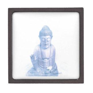ratón blanco azul y minúsculo de Buda Caja De Regalo De Calidad