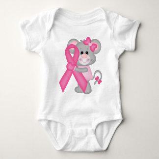 Ratón-cáncer-surviver de Think Pink - cinta Body Para Bebé