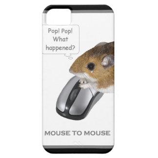 Ratón chillón y ratón del ordenador iPhone 5 fundas