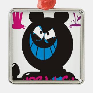 Ratón cínico ornamente de reyes
