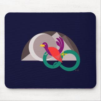 Ratón-cojín del gráfico del hemisferio tapete de raton