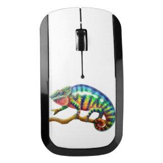 Ratón colorido de la radio del camaleón de la ratón inalámbrico
