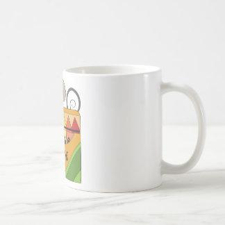 ratón con los creyones taza de café