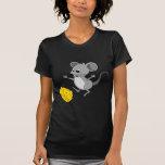 Ratón con queso camiseta