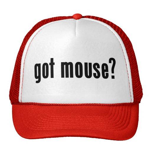¿ratón conseguido? gorra