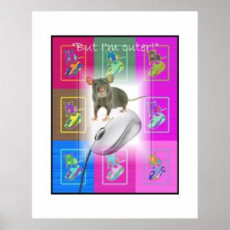 Ratón contra ratón póster