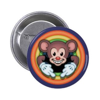 Ratón de Attitudy Pin Redondo 5 Cm