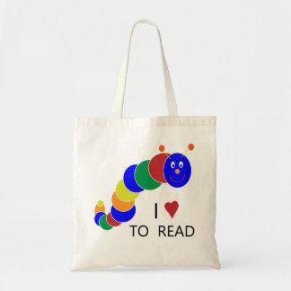 Ratón de biblioteca bolsa tela barata