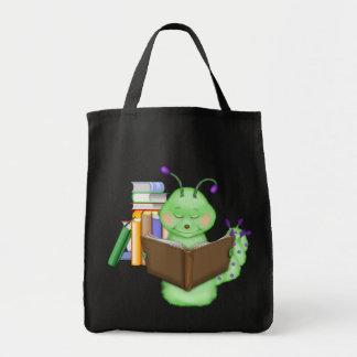 Ratón de biblioteca bolsa tela para la compra