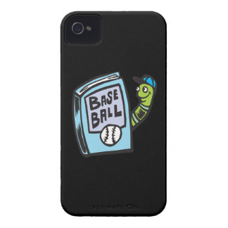 Ratón de biblioteca del béisbol iPhone 4 Case-Mate carcasas
