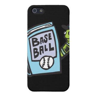 Ratón de biblioteca del béisbol iPhone 5 cárcasas