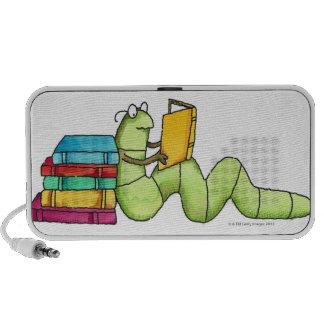 Ratón de biblioteca notebook altavoz