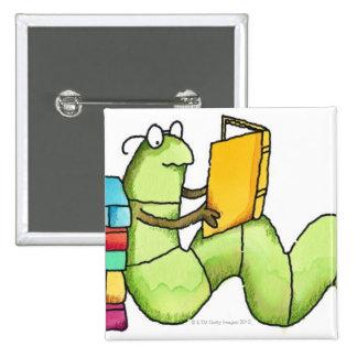 Ratón de biblioteca pins