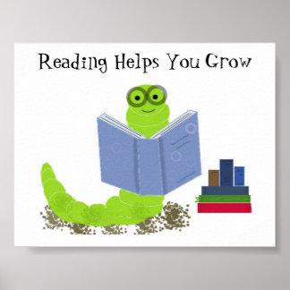 Ratón de biblioteca póster