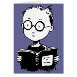 Ratón de biblioteca tarjeta
