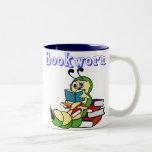 Ratón de biblioteca tazas de café