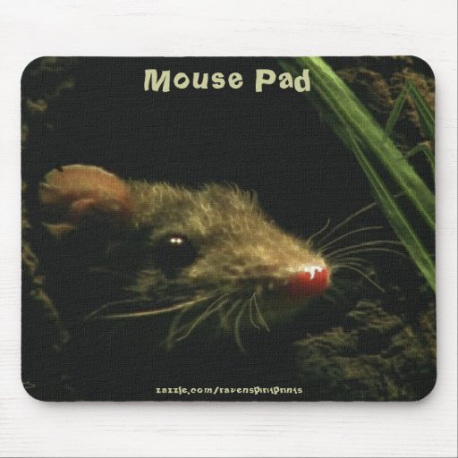 Ratón de campo Mousepad Tapete De Ratones