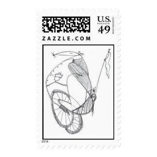 Ratón de ciclo sellos