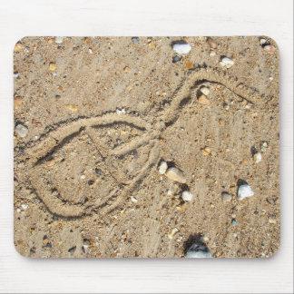 Ratón de la arena alfombrillas de ratón