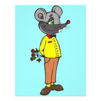 """Ratón de la datación folleto 8.5"""" x 11"""""""
