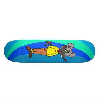 Ratón de la datación skate boards