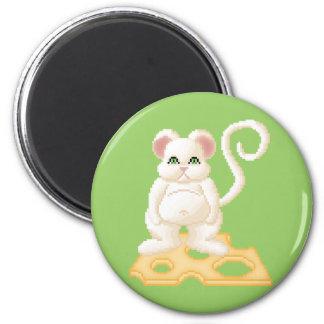 Ratón de la jalea del Critter de Lura Imán Redondo 5 Cm
