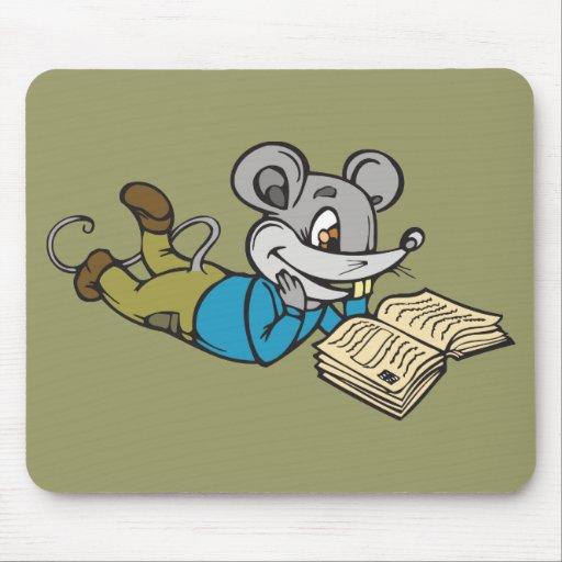 Ratón de la lectura alfombrillas de ratones
