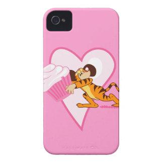 Ratón de la magdalena (juego del tigre) Case-Mate iPhone 4 funda