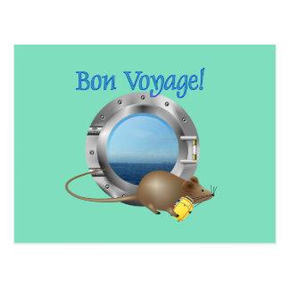 Ratón de la navegación el vacaciones postal
